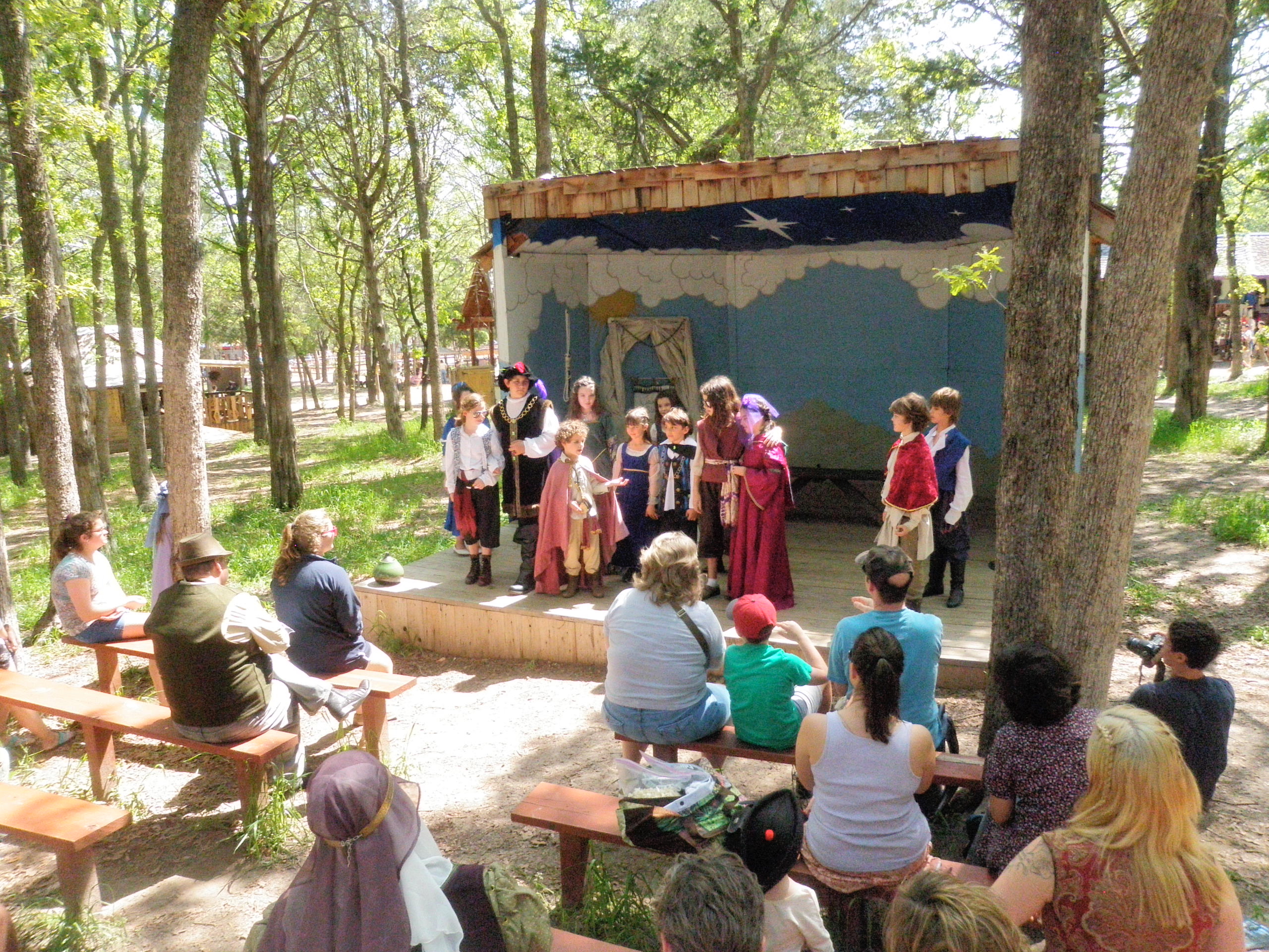 Twelfth Night and Taming of the Shrew (Spring, 2012)